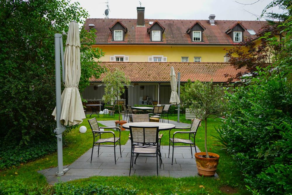 Restaurant La Cucina, Mühle Binzen - Hotel Mühle mit Garten