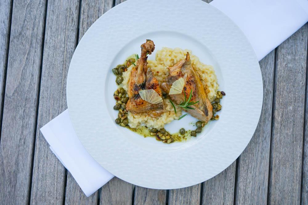 Restaurant La Cucina, Mühle Binzen - Premium Geflügel, Risotto