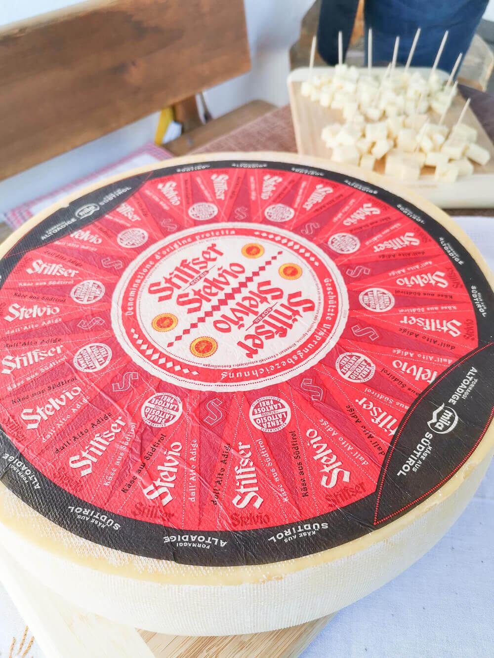 Stilfser Käse, Südtirol - Käse Verkostung
