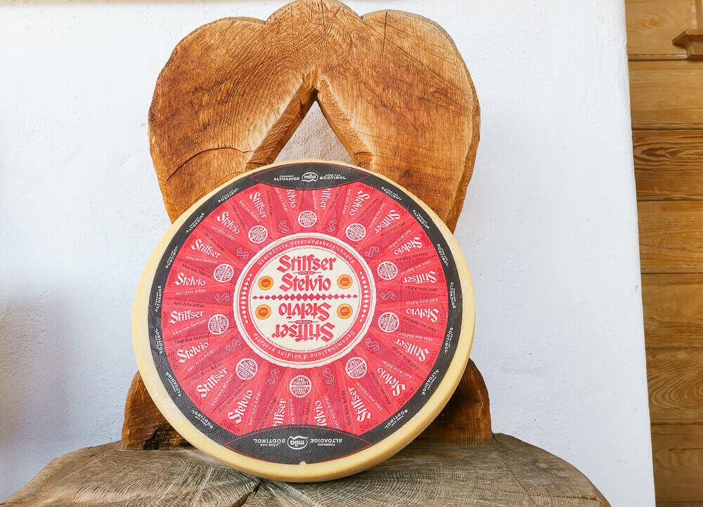 Stilfser Käse, Südtirol - Laib Käse