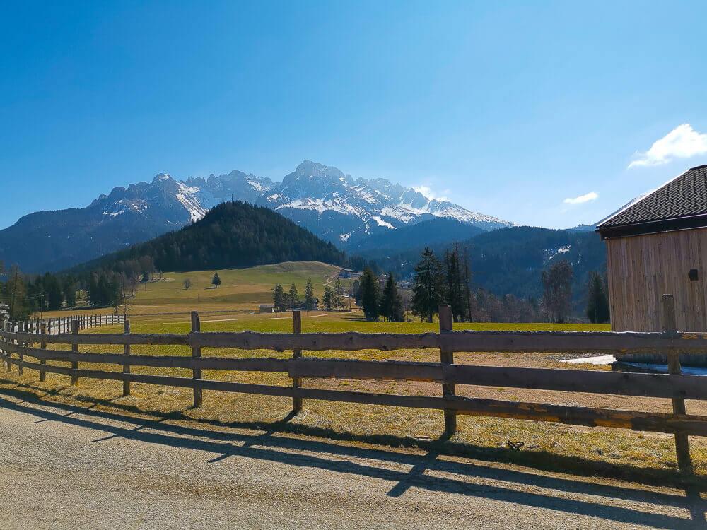 Stilfser Käse, Südtirol - Traum Ausblick, tolle Weiden
