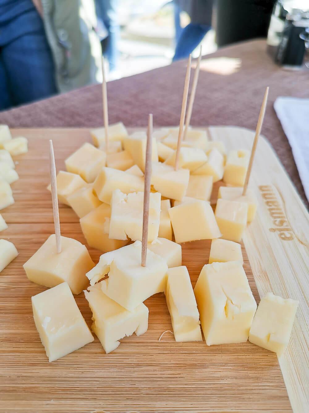 Stilfser Käse, Südtirol - gute Stilfser Häppchen