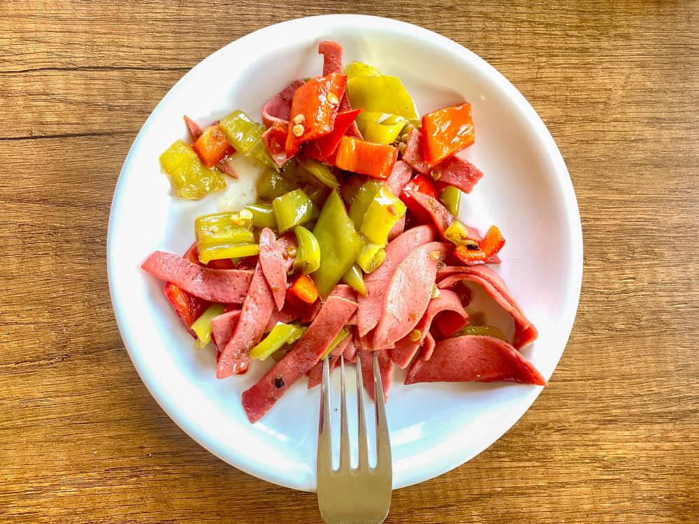 Knoblauchwurst mit Paprika – Biberli Sucuk