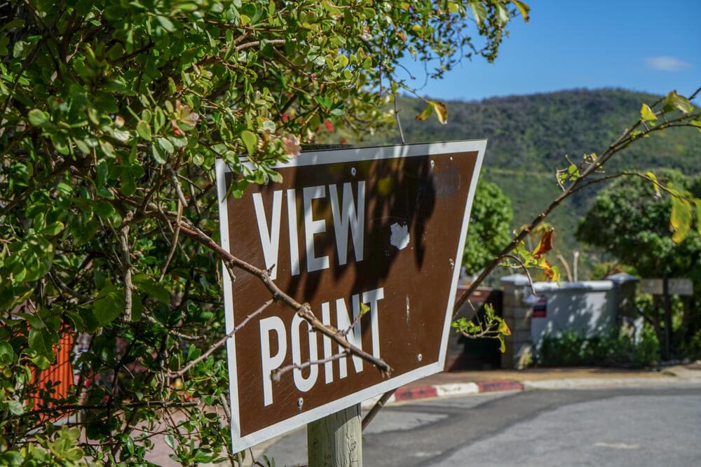 The Heads, Knysna - Weg zum Viewpoint