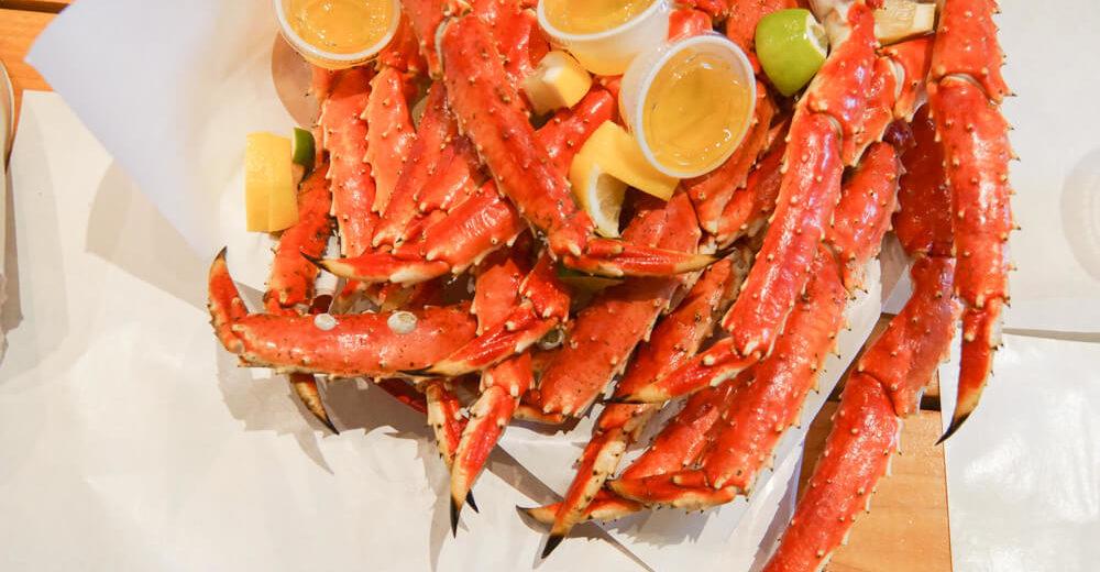 Tracy's King Crab Shack, Juneau - King Crab legs