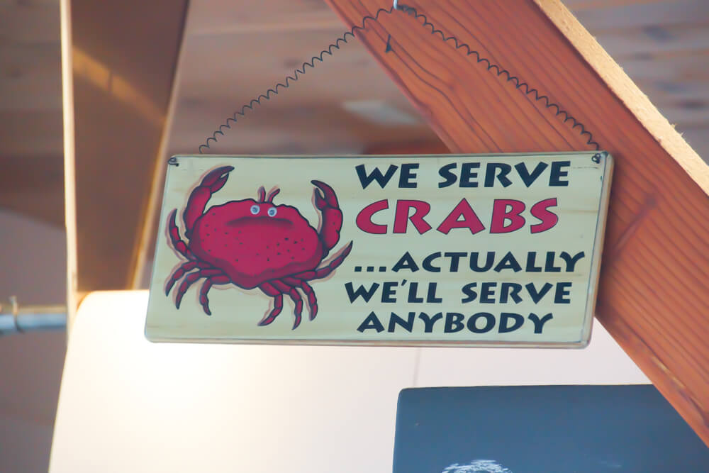 Tracy's King Crab Shack, Juneau - Witzig