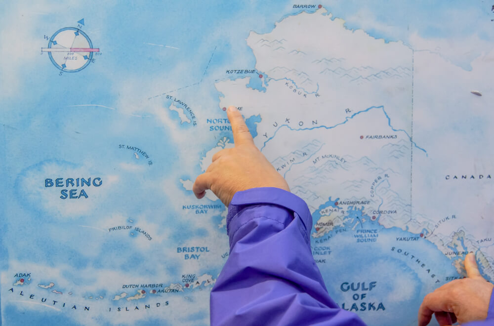 Tracy's King Crab Shack, Juneau - da gibt es die besten Königskrabben