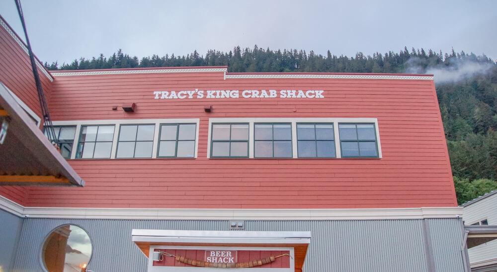 Tracy's King Crab Shack, Juneau - nicht wirklich ein Shack