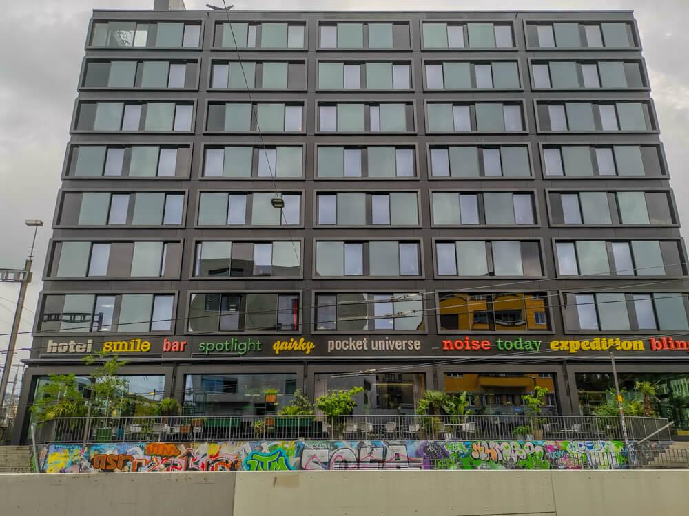 25Hours Hotel Zürich Langstrasse - Frontansicht
