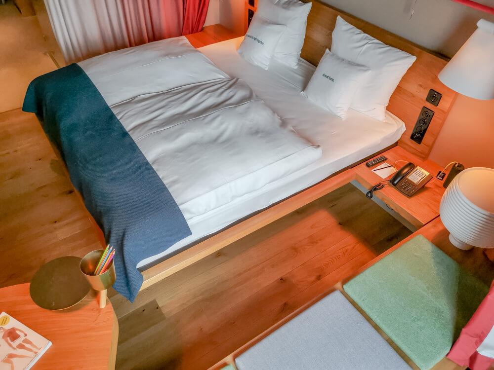25Hours Hotel Zürich Langstrasse - tolle Raumaufteilung