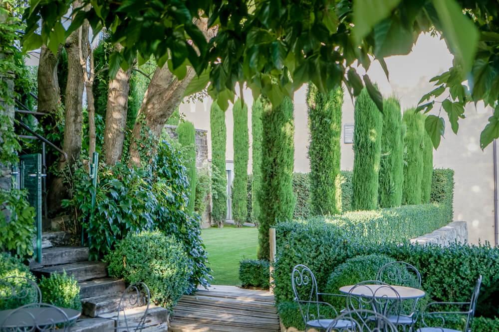 Clos de la République, Epesses - Garten für Feiern