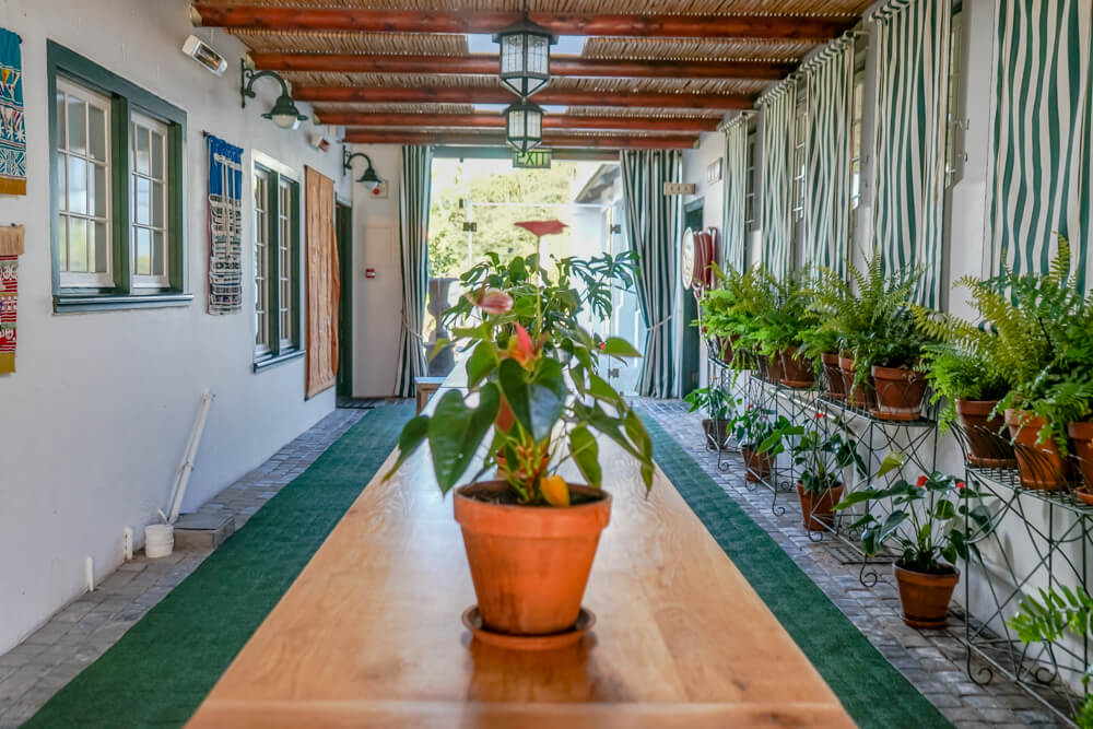 Constantia Glen Weingut, Südafrika - Innenbereich und Restaurant