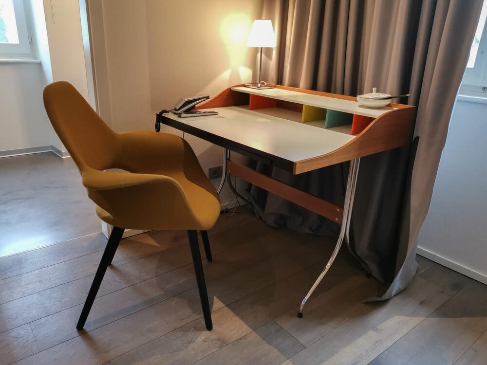 Hotel & Restaurant Krone, Weil am Rhein - Vitra Möbel bereichern das Ambiente