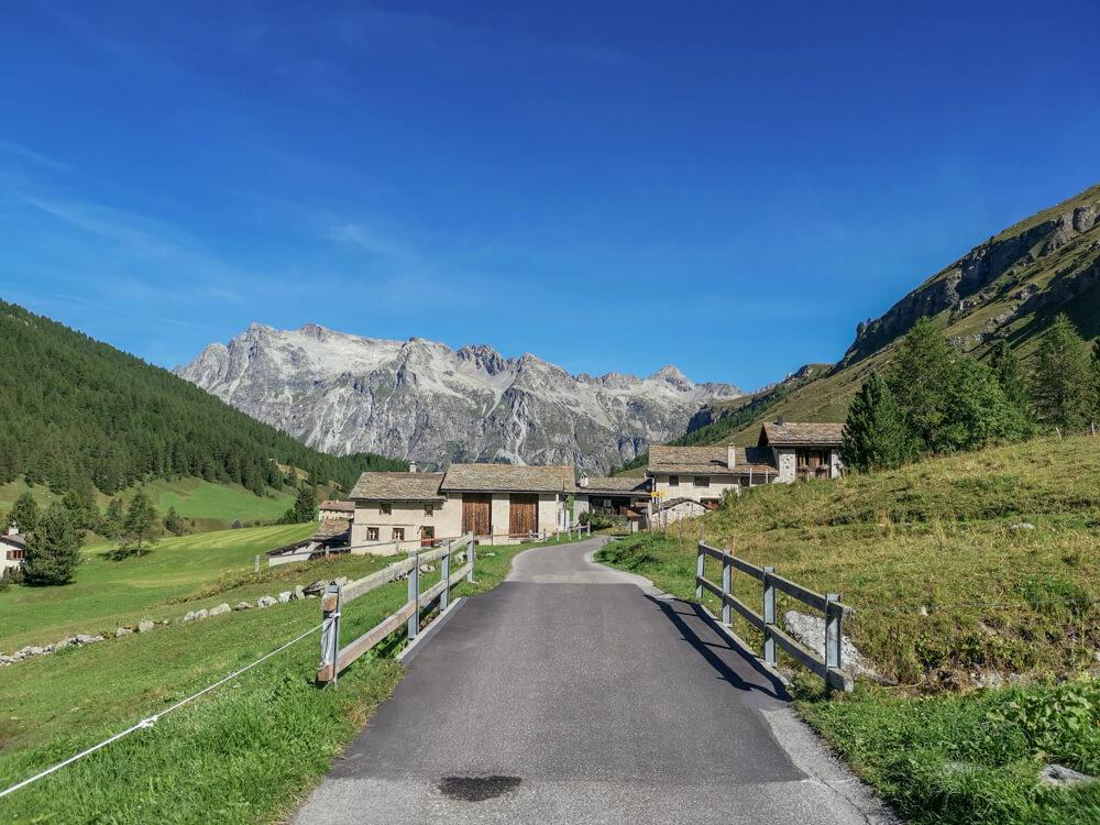 Hotel Waldhaus, Sils - Val Fex, Berge und Tal