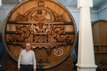 Patrick Fonjallaz und sein 32000 Liter Weinfass