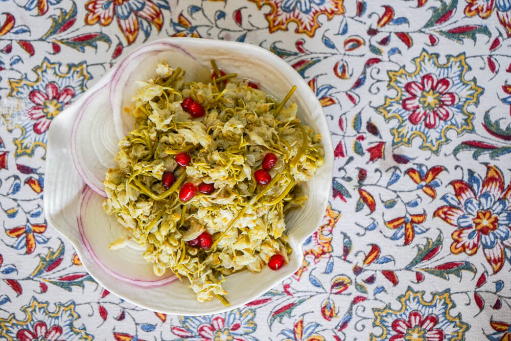Vinotel Restaurant, Tiflis - Jonjoli Salat mit Granatapfel
