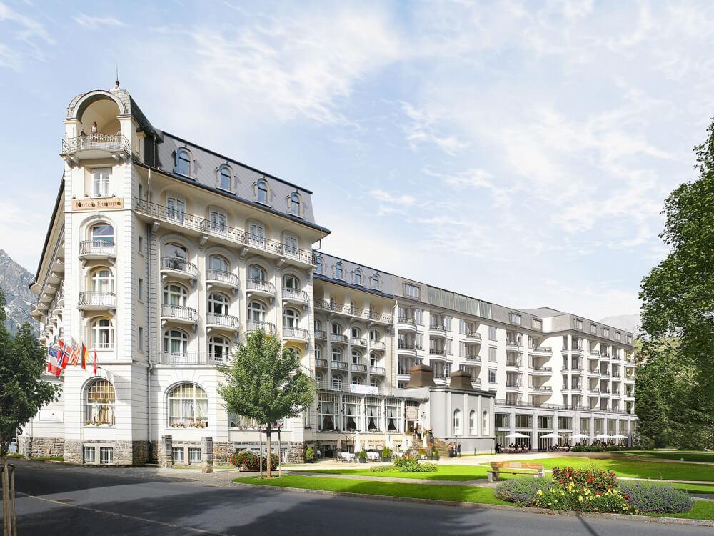 Aussenansicht - Engelberg Palace Kempinski - copyright Kempinski Hotels-2