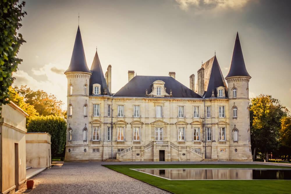 Château Mouton Rothschild Schloss