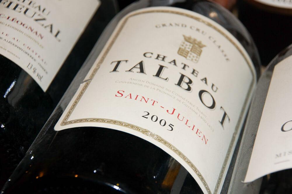 Château Talbot Weine