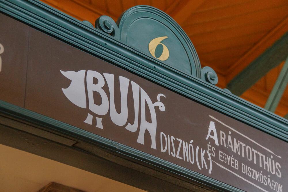 Buja Disznó(k) Restaurant, Budapest - Logo