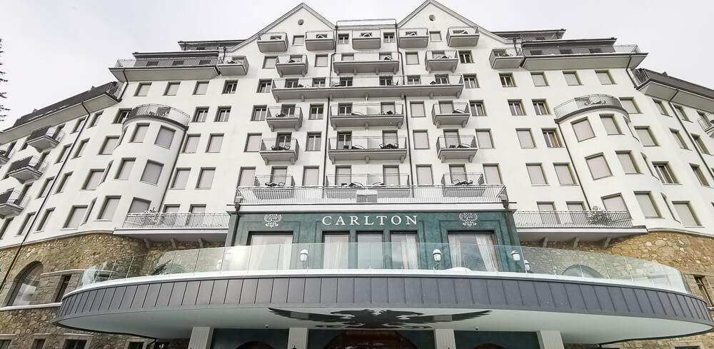 Carlton Hotel St.Moritz - Außenansicht