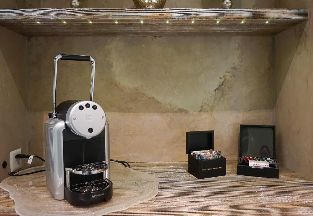 Carlton Hotel St.Moritz - Kaffee & Tee auf der Suite