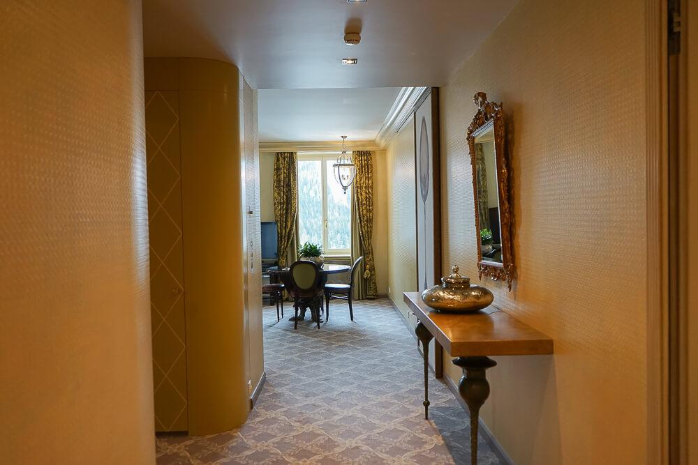 Carlton Hotel St.Moritz - Suite Flur