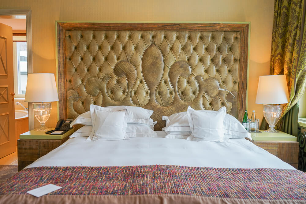 Carlton Hotel St.Moritz - super bequeme Betten