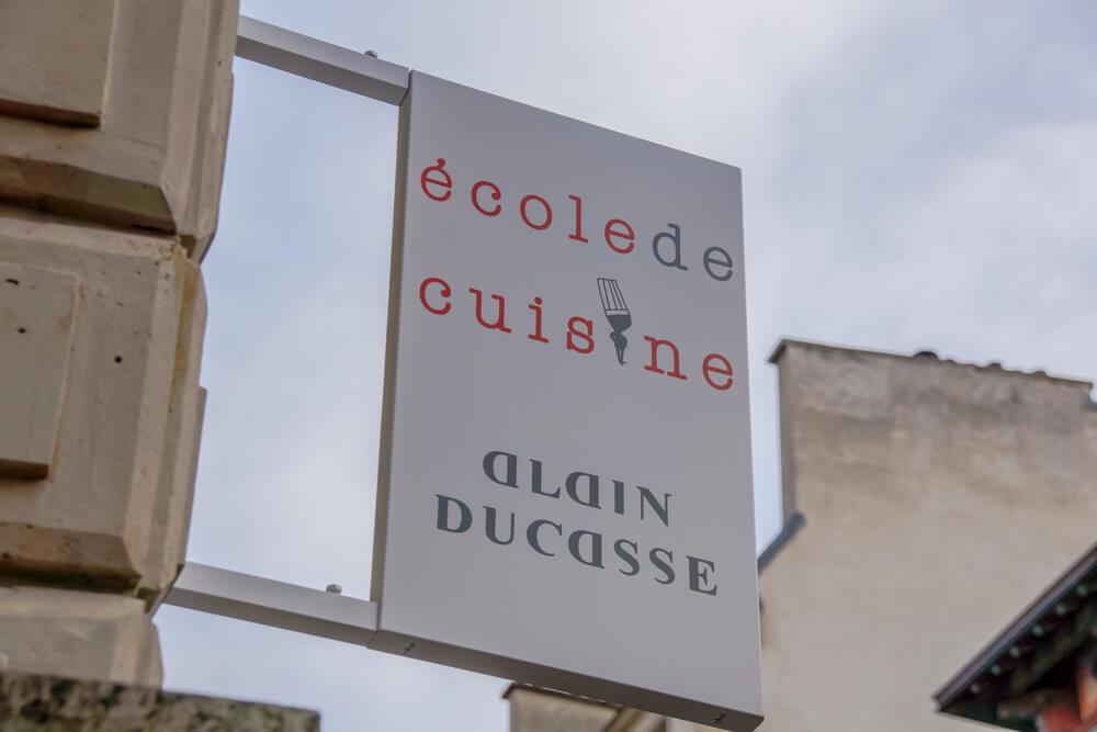 École de Cuisine Ducasse, Paris - Eingang