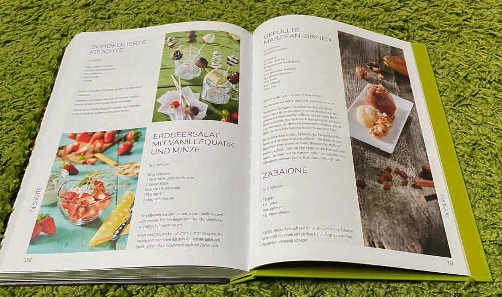 Kochen für ein Jahr - Kochbuch - Desserts