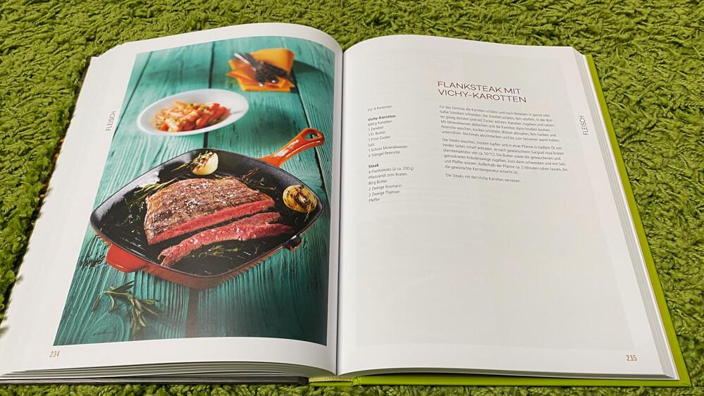 Kochen für ein Jahr - Kochbuch - Flanksteak