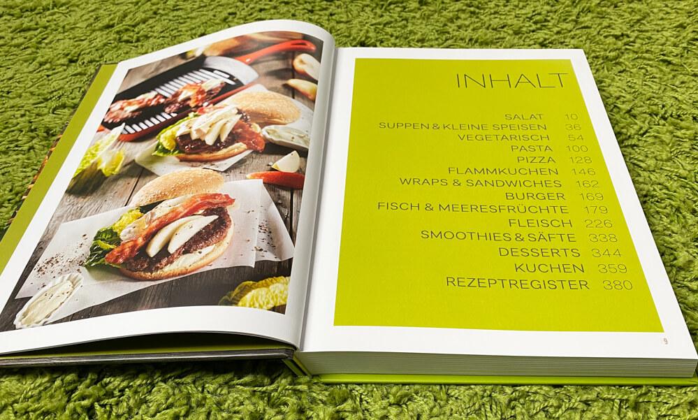 Kochen für ein Jahr - Kochbuch - Inhalt