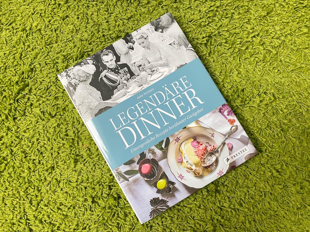 Legendäre Dinner Unvergessliche Rezepte berühmter Gastgeber - Buchcover