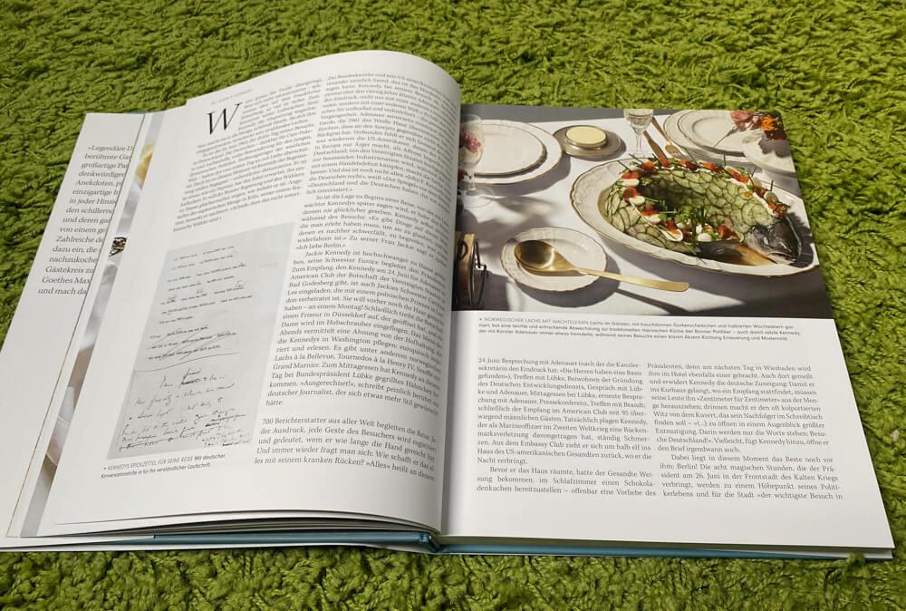 Legendäre Dinner Unvergessliche Rezepte berühmter Gastgeber - großartige Berichte