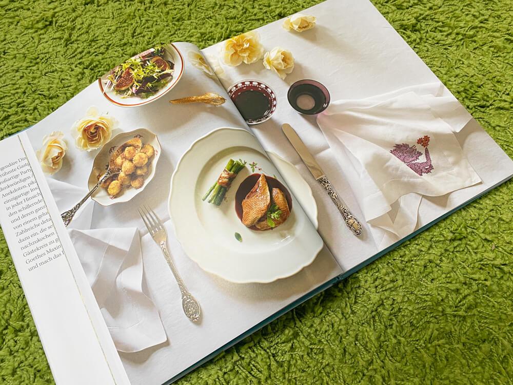 Legendäre Dinner Unvergessliche Rezepte berühmter Gastgeber - stilvolle Bildsprache