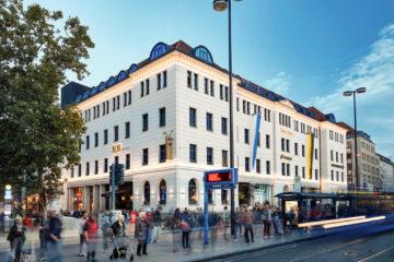 25hours Hotel München The Royal Bavarian - Außenansicht
