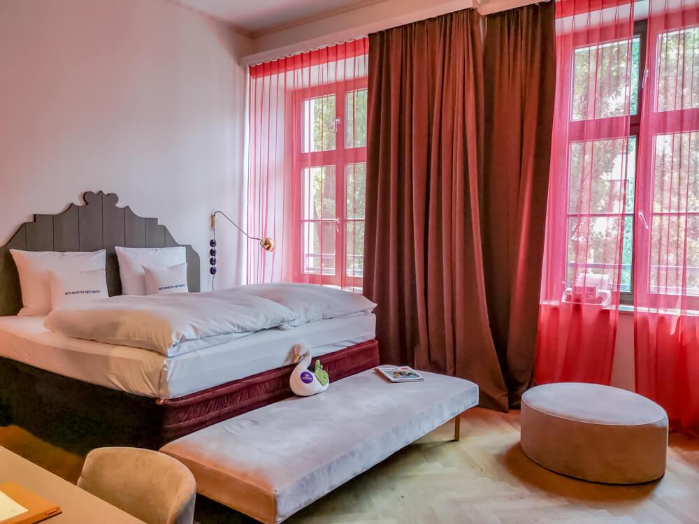 25hours Hotel München The Royal Bavarian - großartige Zimmer
