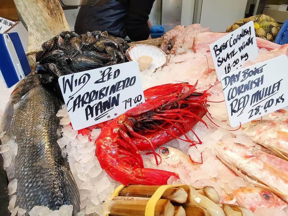 Borough Market, London - Carrabinero, eine rare Köstlichkeit