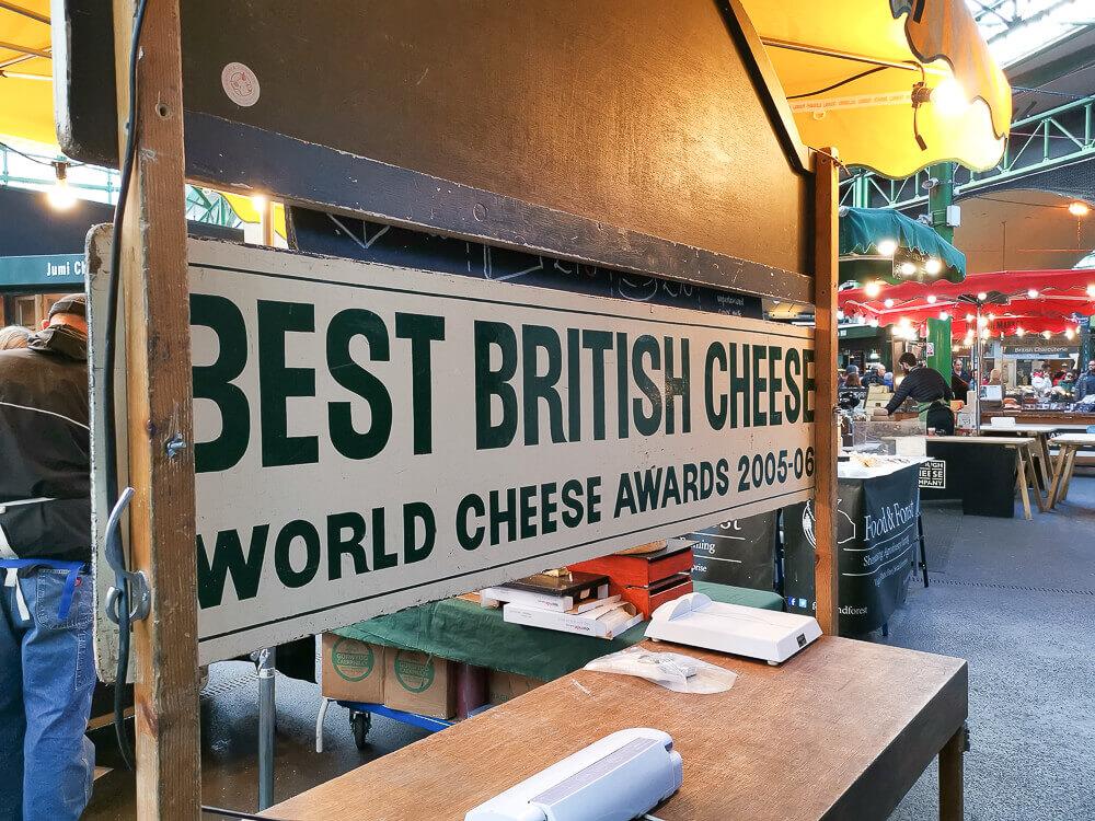Borough Market, London - Cheese world