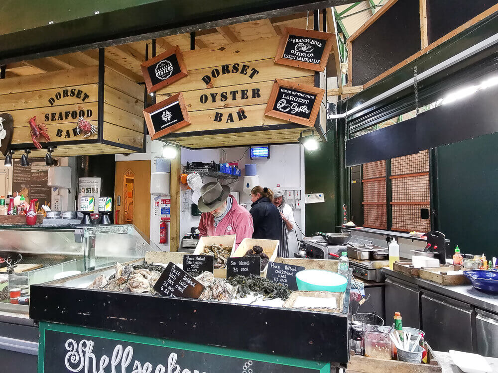 Borough Market, London - Dorset Oyster Bar