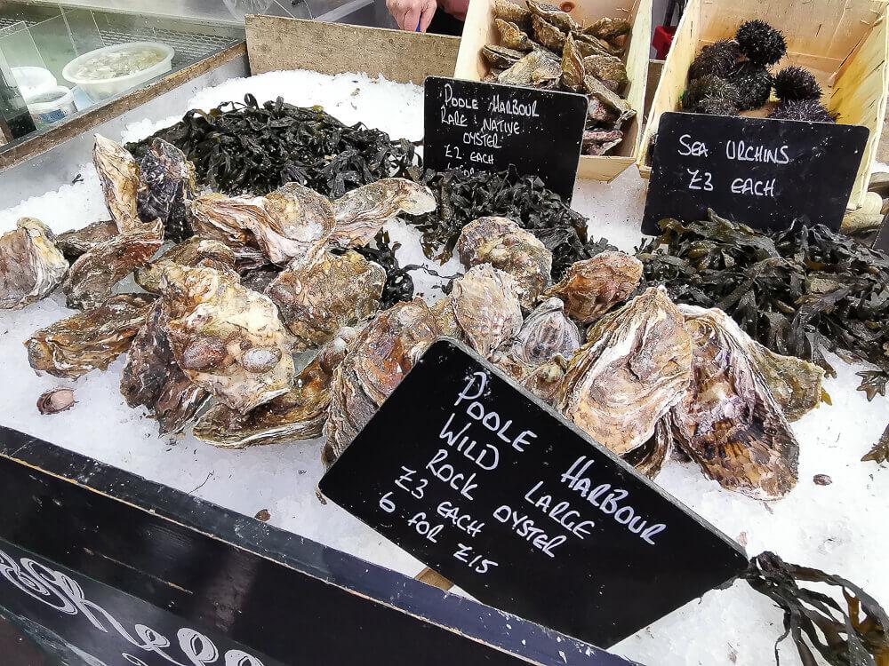 Borough Market, London - Top Notch Oysters