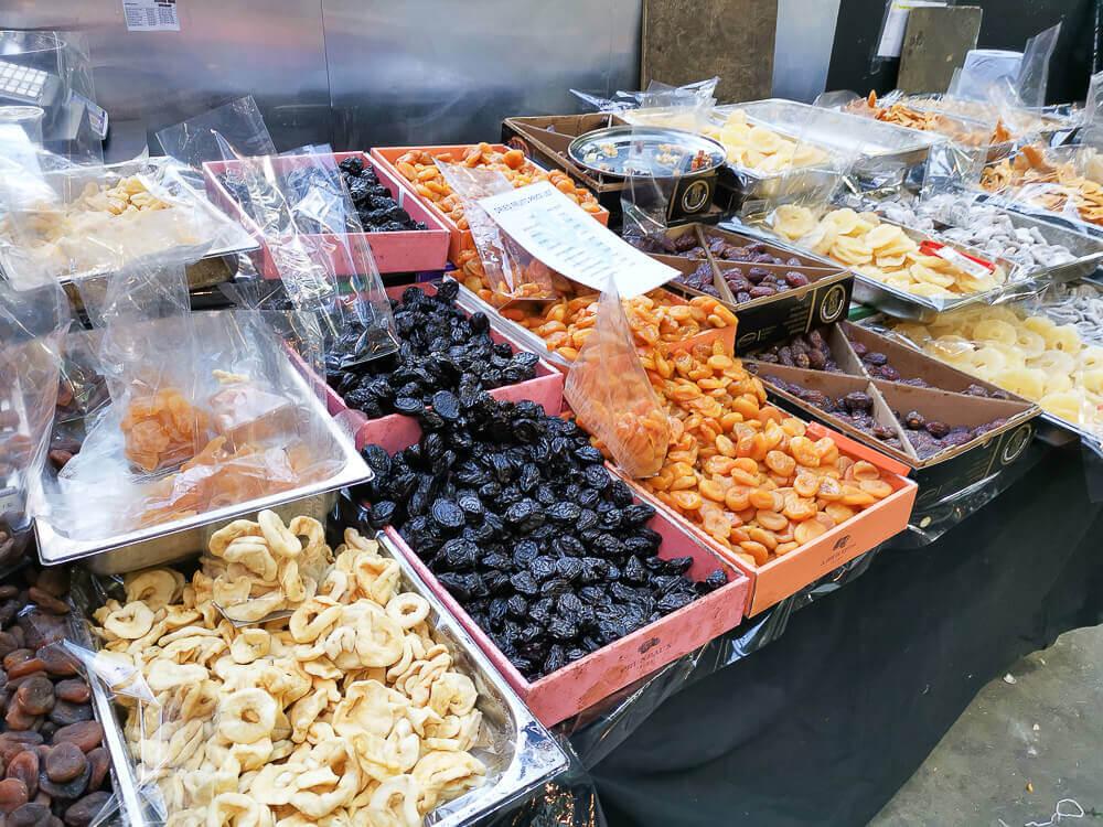Borough Market, London - Trockenfrüchte bester Qualität