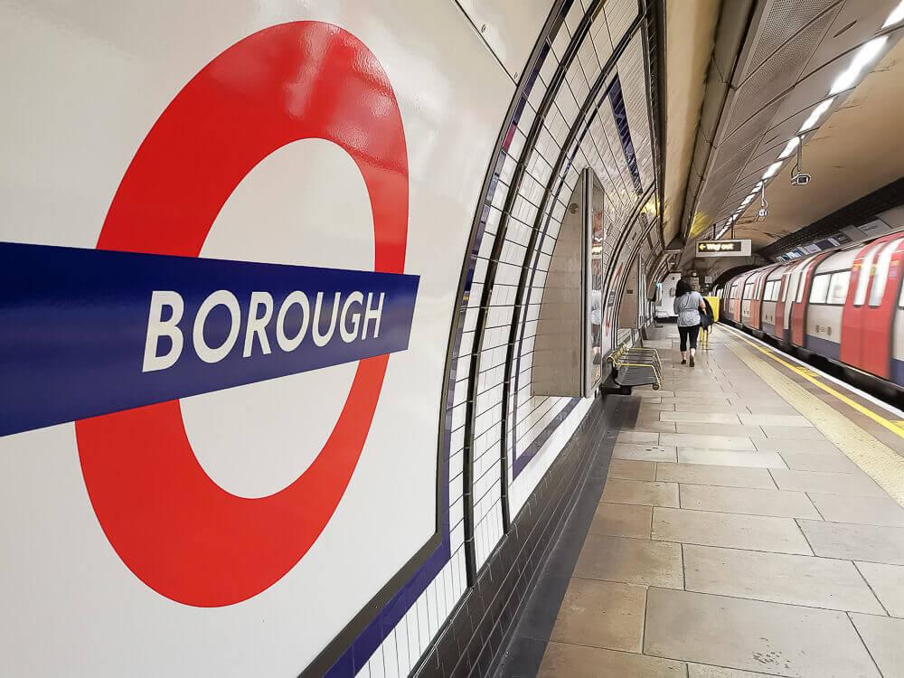 Borough Market, London - U-Bahn Station