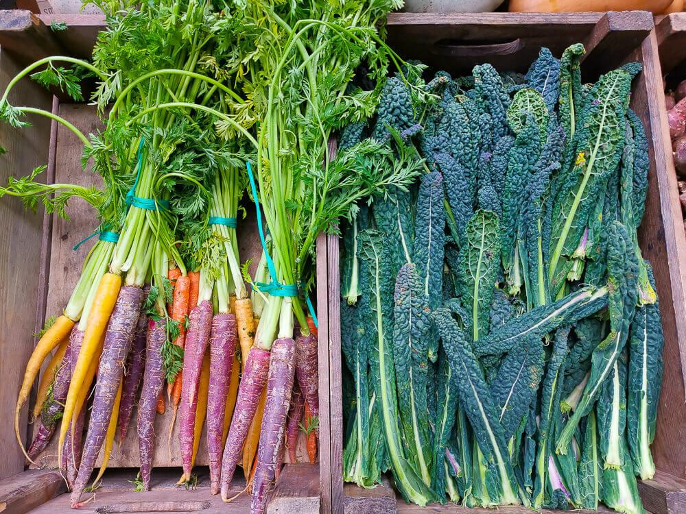 Borough Market, London - gesundes Gemüse