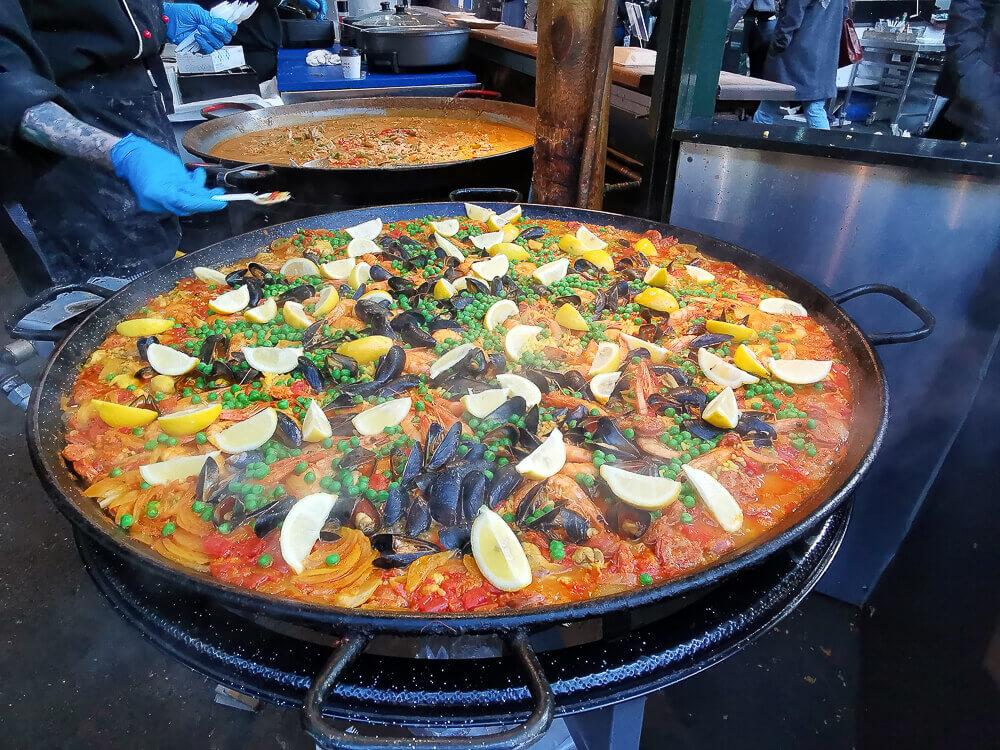 Borough Market, London - göttliche Paella