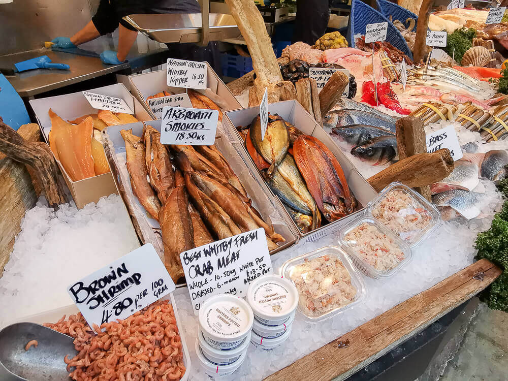 Borough Market, London - grandioser Fisch