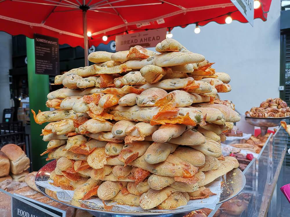 Borough Market, London - grandioses Brot