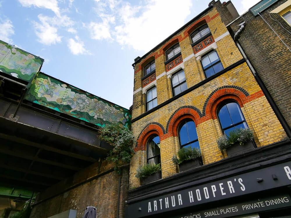 Borough Market, London - symphatische Architektur