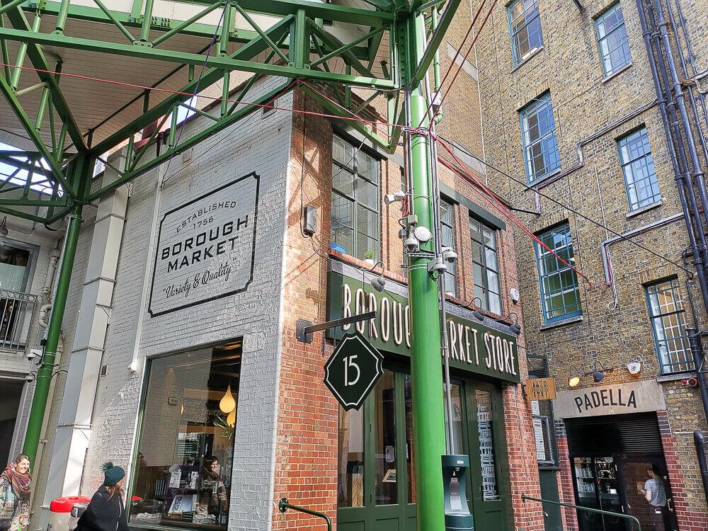 Borough Market, London - traditionelle Konstruktionen