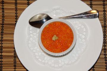 Chawanmushi mit Lachskaviar Rezept 2